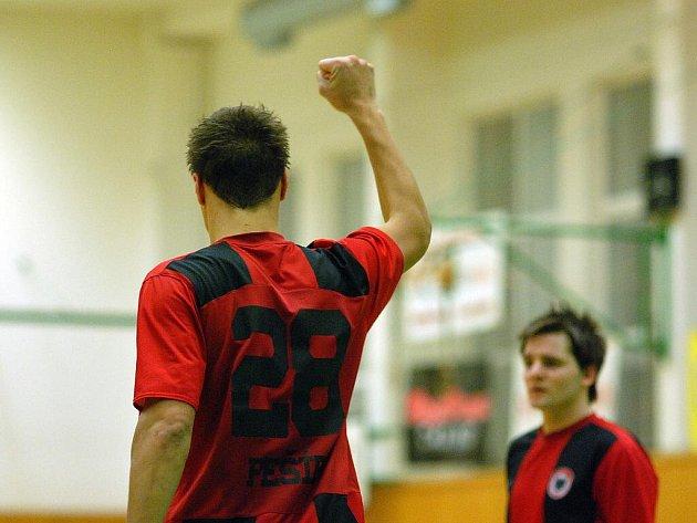 Z utkání 20. kola 1. futsalové ligy mezi Benagem a Torf Pardubice.