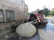 Havárie cisterny 9. července 2018