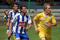 První přípravné utkání: Vlašim - Čáslav, Kácov 3. července 2010.