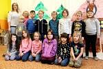 Základní škola Suchdol, I. třída s učitelkou Evou Vyhnánkovou