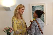 Iveta Veverková zahájila svou výstavu ve Spolkovém domě.