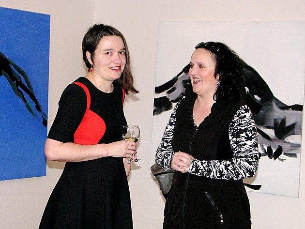 Mariana Alasseur vystavuje nyní svá díla v Galerii Felixe Jeneweina v Kutné Hoře
