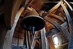 Zvon Jakub Maria ve věži kostela sv. Jakuba v Kutné Hoře.