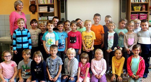 Naši prvňáci: Škola T. G. Masaryka přivítala 56nových prvňáčků.