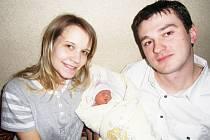 Nelinka Potměšilová se narodila 7. března v Čáslavi. Vážila 2250 gramů a měřila 46 centimetrů. Doma v Tupadlech ji přivítali maminka Petra a tatínek Miroslav.