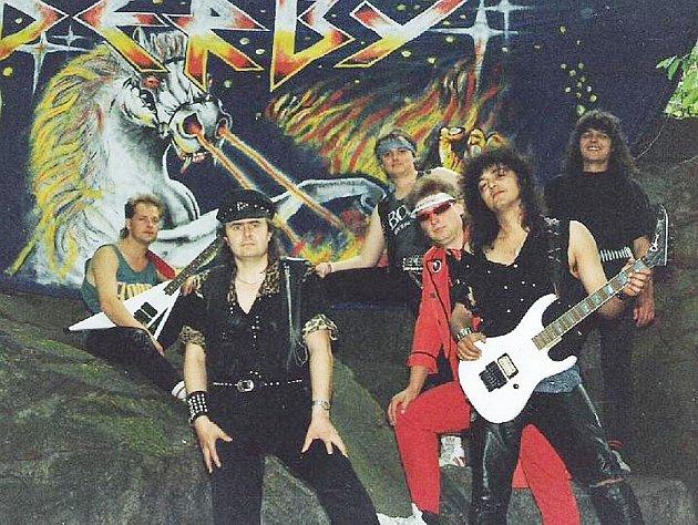 Rocková kapela Derby.