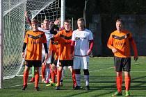 Z fotbalového utkání okresního přeboru Kutná Hora B - Kácov (1:2)