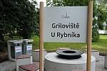 Griloviště U Rybníka v Čáslavi.