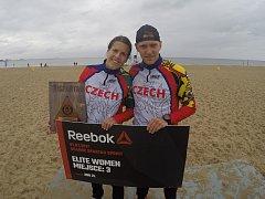 Martina Fabiánová a Michal Pavlík se zúčastnili Spartan Race u Baltského moře.