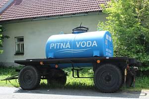 Cisterna s pitnou vodou na Rozkoši