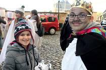 Tři králové vyrazili do ulic Kutné Hory.