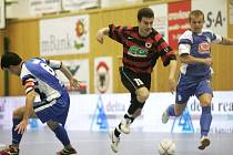 I. liga futsalu: Benago Zruč n. S. - Torf Pardubice 3:3, úterý 11. listopadu 2008