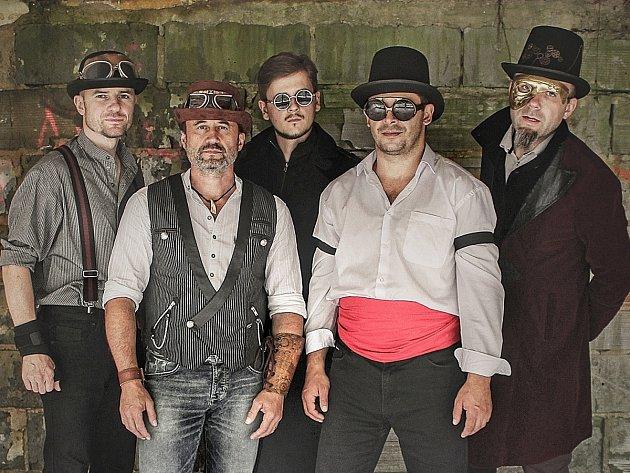 Hudební skupina Vesper.