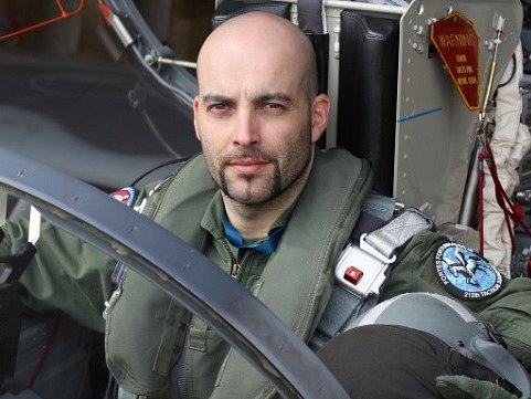 Display pilot Ondřej Španko