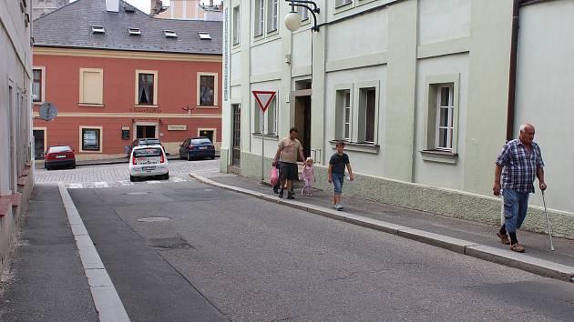 Na začátku srpna začnou opravy kutnohorské ulice Česká.