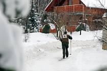 Závod v běhu na lyžích Schořovská stopa. 16.1.2010