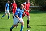 Fotbalová IV. třída, skupina B: TJ Sokol Červené Janovice B - TJ Soběšín 2:4 (1:3).