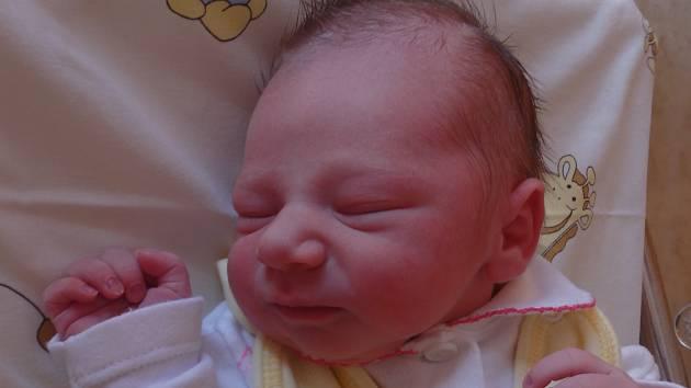 Monika Balvínová se narodila 1. června vČáslavi. Vážila 3050 gramů a měřila 51 centimetrů. Doma vKutné Hoře ji přivítali maminka Monika, tatínek Tomáš a sestra Natálka.