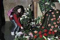 Z pohřbu Milady Valové