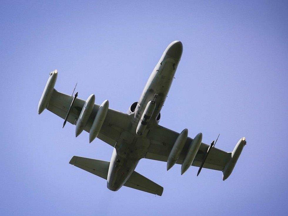 Mezinárodní taktické cvičení Ample Strike 2020: čáslavské bitevníky L-159 jsou určeny k přímé letecké podpoře.