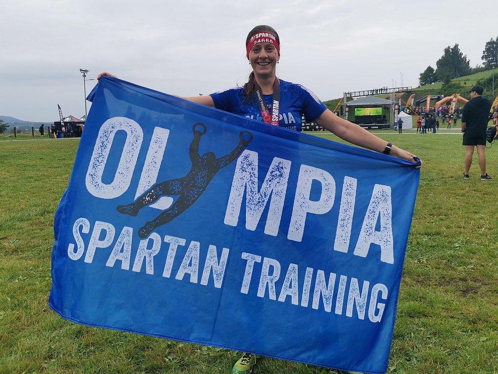 Olympia Spartan Training Kutná Hora v Liberci. Na snímku Jana Tvrdíková.