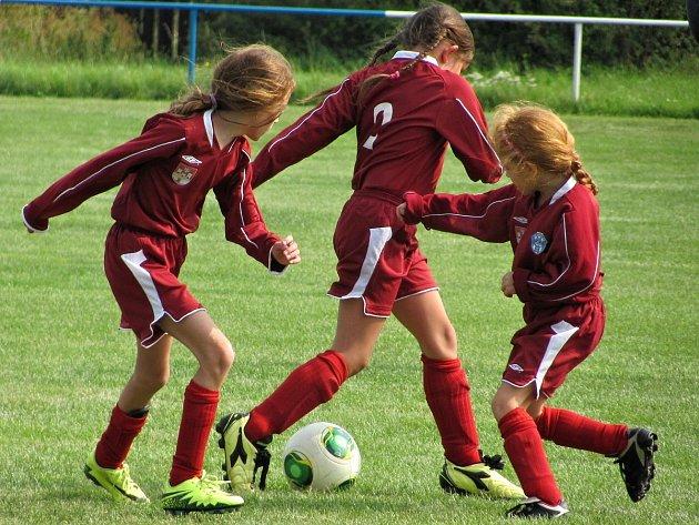 Mistrovský turnaj mladších přípravek v Potěhách: FK Čáslav C - Sokol Potěhy 0:20 (0:12).