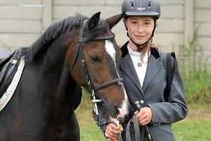 """Jezdecké hobby odpoledne v Chotusicích """" Na Křepelce."""" 28. 8. 2010"""