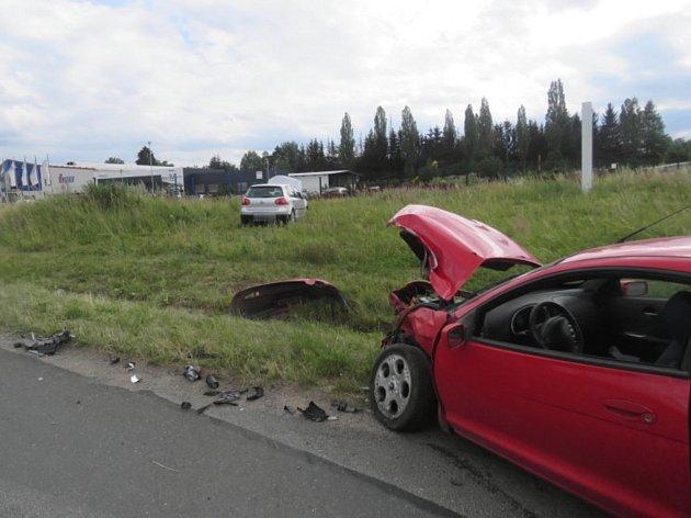 Dopravní nehoda v Čáslavi.