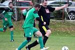 Fotbalová III. třída: TJ Sokol Červené Janovice - FK Miskovice 1:2 (0:2).