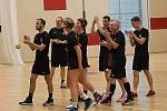 Hned tři korfbalové týmy se sešly 11. ledna v Kutné Hoře, aby v místní sportovní hale Klimeška odehrály další kolo soutěže.