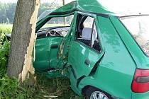 První tragická dopravní nehoda v roce 2008 na Kutnohorsku se stala na začátku června na silnici mezi Podveky a Českým Šternberkem. Po nárazu do stromu přišla o život řidička Škody Felicie.