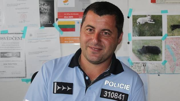 Policista Václav Průcha.