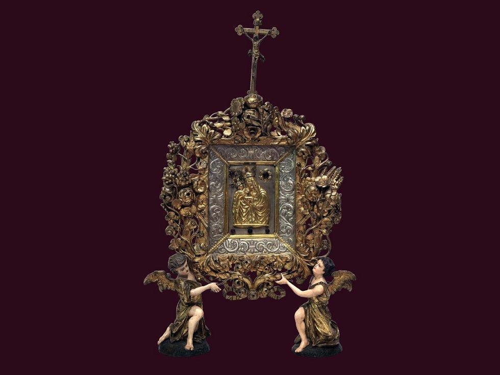Kopie Staroboleslavského palladia bude k vidění v chrámu svaté Barbory.