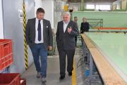 Radní otevírali stavbu, navštívili v Čáslavi leteckou základnu, školu a hasiče, na závěr debatovali s občany i se starosty