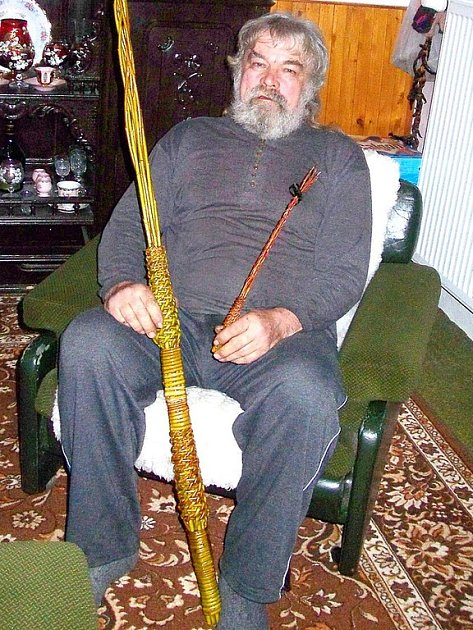 Miloslav Ronovský z Bratčic upletl před Velikonocemi i 780 pomlázek.