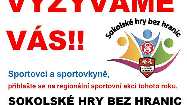 Sokolské hry bez hranic v Červených Janovicích.