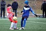 Fotbalový přípravný zápas, mladší žáci, kategorie U12: FK Čáslav - Sparta Kutná Hora 10:2 (3:1).