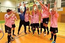 Finálový večer Rebel play off Club Deportivo futsalové ligy, 22. března 2012.