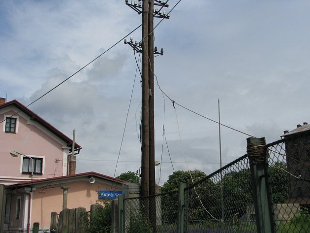 Nádraží Kutná Hora - město.