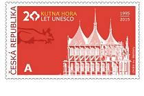 Návrh na kutnohorské poštovní známky.