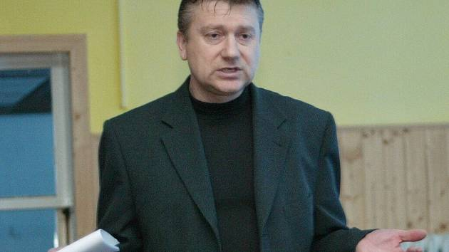Červenojanovický starosta Petr Zoufalý.