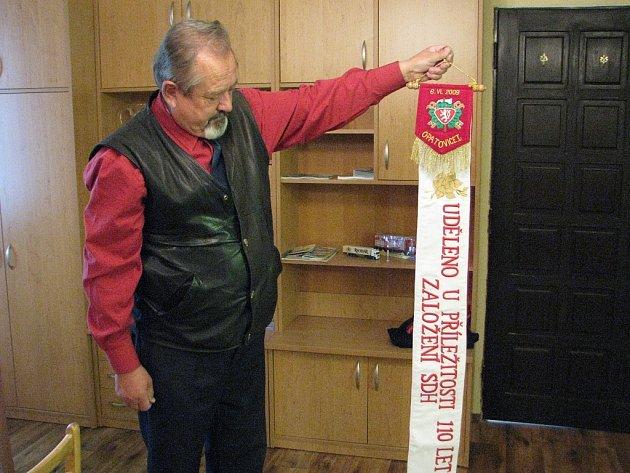 Člen  výboru Sboru dobrovolných hasičů Opatovice I Pavel Kyzr.