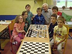 Šachový kroužek se rozloučil se školním rokem