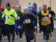 Silvestrovský běh 2016 ve Svatém Mikuláši