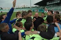Změní se radost čáslavských fotbalistů v pláč? Do jaké soutěže Zenit na podzim nastoupí?