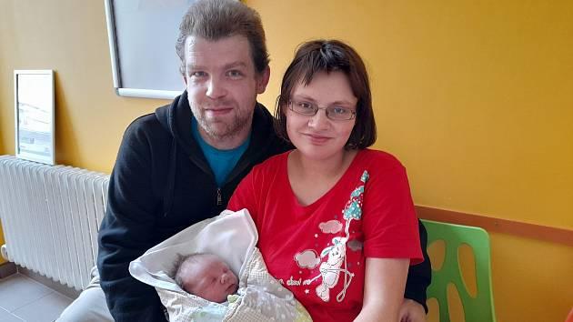 David Zimmermann přišel na svět 1. října 2021 ve 2.38 hodin v čáslavské porodnici. Vážil 3700 gramů a měřil 52 centimetrů. Doma ve Žlebech se z něj těší maminka Iveta a tatínek Jan.