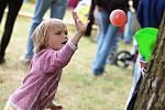 Dětský den se uskutečnil v sobotu u rybníka ve Zbýšově.