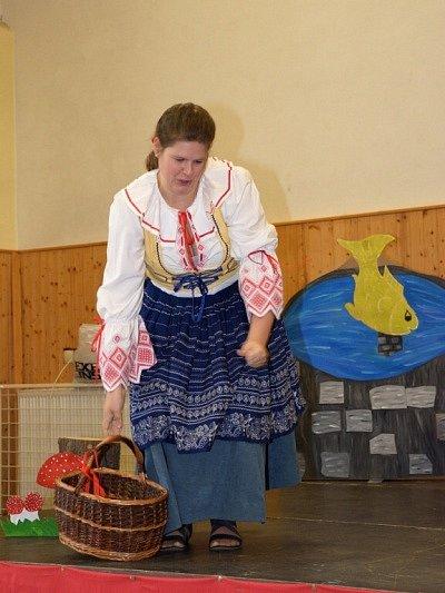 Představení Čert a Káča v Kácově.