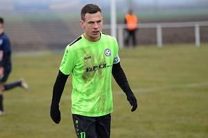 Zápas 16. kola fotbalové I. A třídy, skupiny B mezi domácím Hlízovem a Čáslaví B.