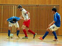 3. semifinále ChFL: FC Benago Zruč - FC Tango Brno 4:5 pp., 5. května 2013.